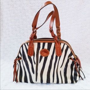 Dooney & Bourke Animal Print Hobo Bag